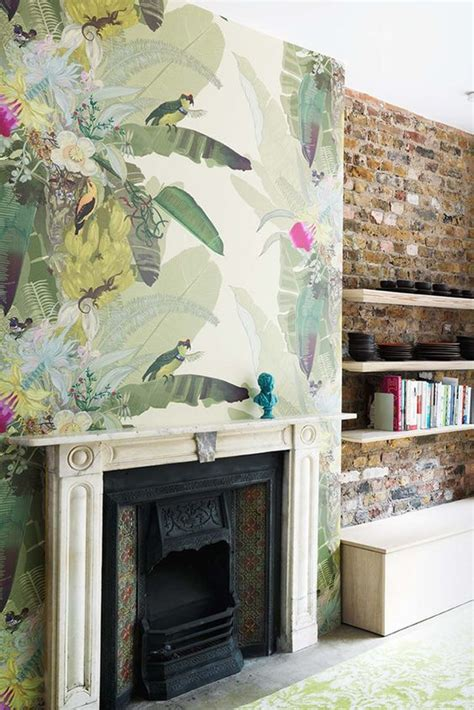 lade da terrazzo hermanas bolena decoraci 211 n papel pintado tropical