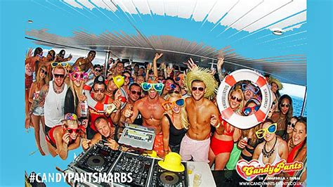 marbella boat parties candypants boat parties marbella events guide