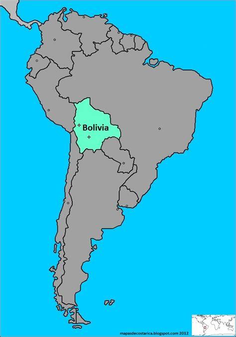 imagenes satelitales bolivia mapa la ubicaci 243 n de bolivia en am 233 rica del sur