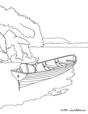 easy to draw rowboat ruderboot auf dem see zum ausmalen zum ausmalen de