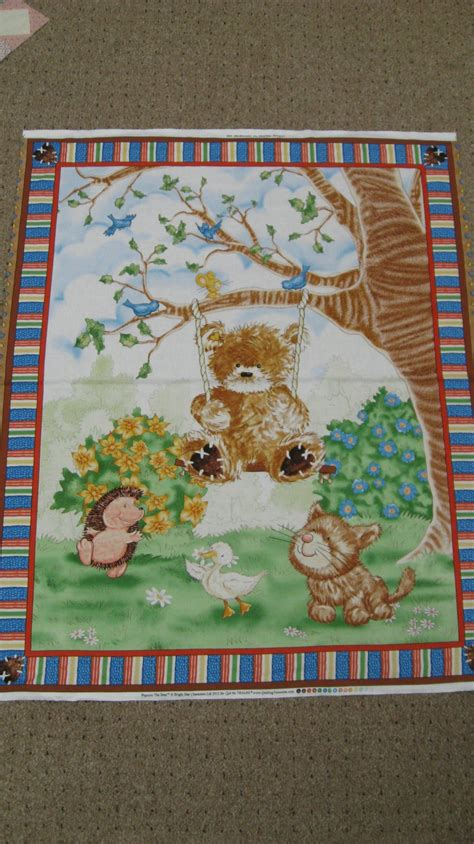 Quilt Fabric Stores A Beary Day Panel Quilting Treasures