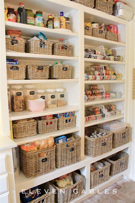 speisekammer sortieren 15 kitchen organization ideas