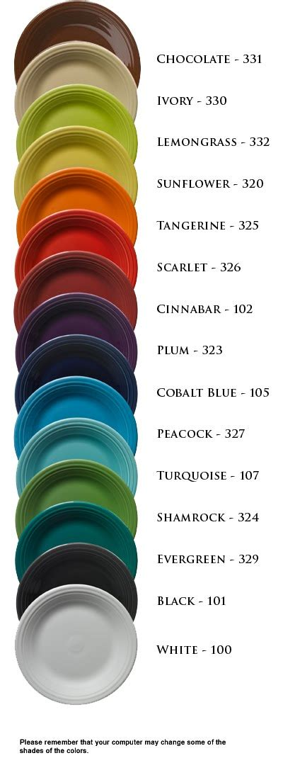 fiestaware colors hello miss chelsea time