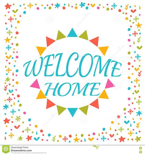 welcome home cards download free vector art stock graphics images
