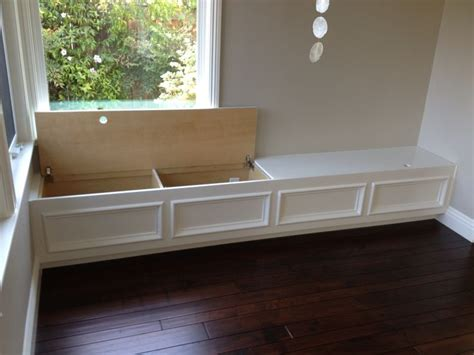 built in storage bench plans best 20 wall bench ideas on pinterest