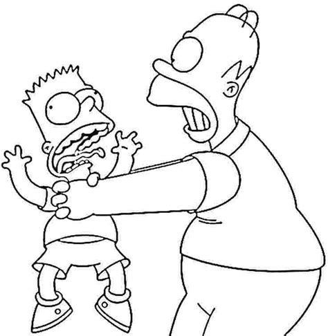Homer Coloring Pages homer coloring pages az coloring pages