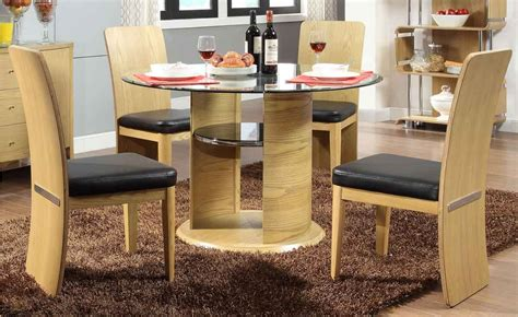 Jual Dinner Set by Jual Jf603 Oak Dining Table 4 Chairs