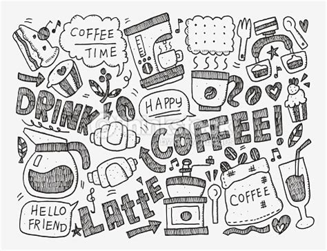 doodle cafe doodle coffee vector thinkstock