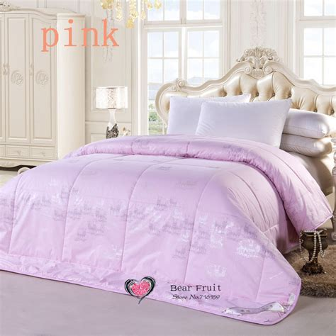 Comforter Filler by Winter Comforter Wool Quilted Blanket Quilt White Pink
