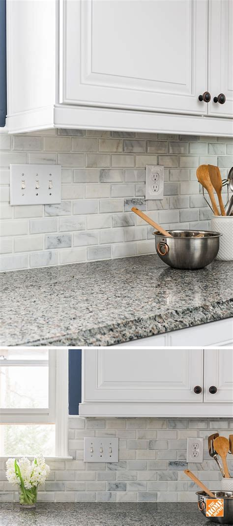 kitchen fabulous home depot backsplash cheap kitchen create an elegant statement with a white brick wall