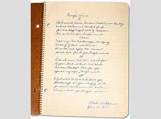 Bob Dylan Assembles 'The Lost Notebooks of Hank Williams ... I'm Lost Lyrics