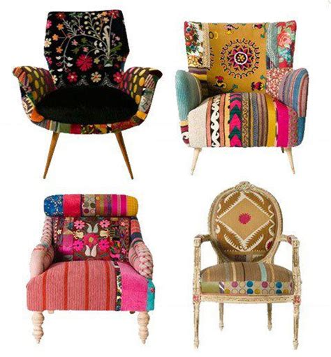 Funky Armchairs by L Univers D In 232 S Suzani Fabric