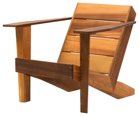 Modern Kitchen Island Table modern clear cedar deck chair contemporary adirondack