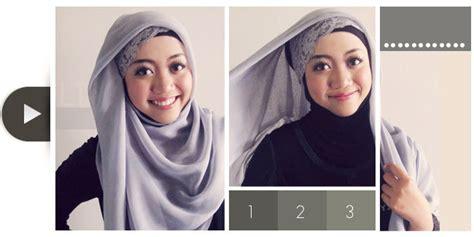 tutorial jilbab segi empat renda hijabers tutorial sakinah til feminin dengan headban