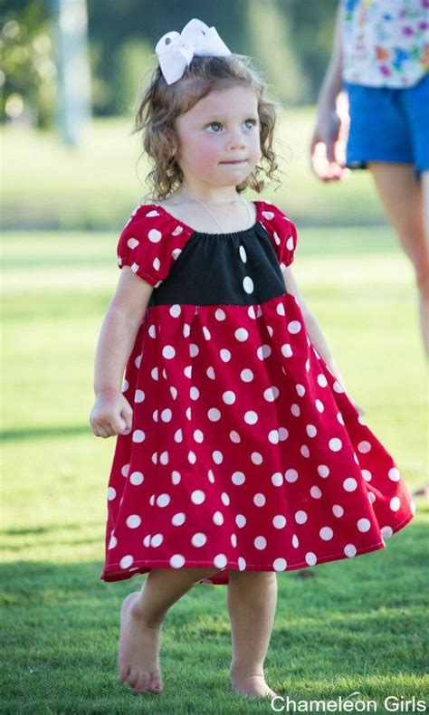 Dress Minny minnie mouse dress disney inspired dress princess dress