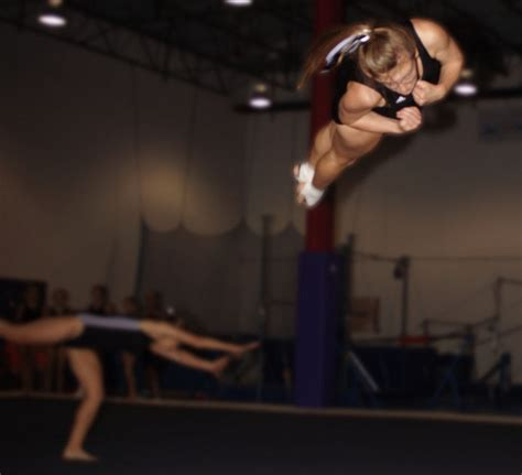 Gymnastics Back Layout Full Twist | full twisting layout working on this on the floor now d