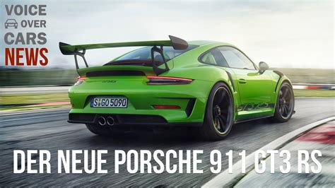 Porsche 911 Gt3 Rs Preis by 2018 Porsche 911 Gt3 Rs Fakten Leistung Preis