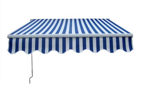 blue awning 2m x 1 5m manual retractable awning garden canopy shelter