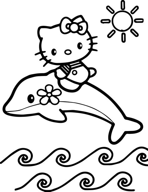 hello kitty airplane coloring page hello kitty color page cartoon characters coloring pages
