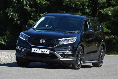 V Black by Honda Cr V Black Edition 2016 Review Auto Express