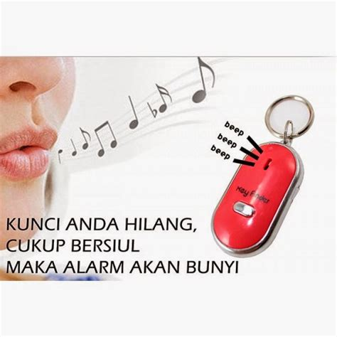 siul on key finder alarm gantungan kunci 480