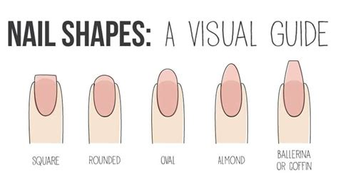 8 Nail Shapes And How To Choose The One For You by These Are The Best Nail Shapes For Your Fingers The