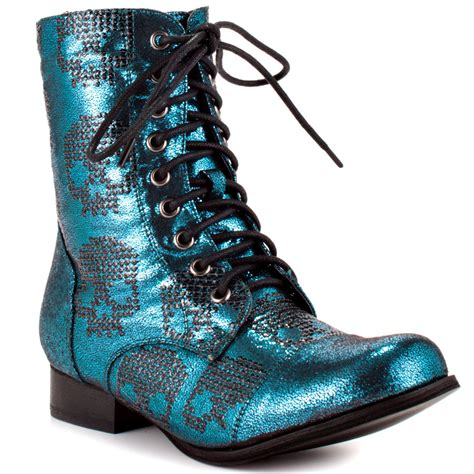 iron shoes iron ruff rider combat boot turq shoes oublogg