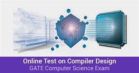 compiler design online quiz online test for gate 2016 computer science cs