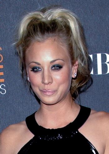 17 best images about kelly cuoco s hair on pinterest kaley cuoco ponytail the faux fauxhawk hollywood s