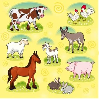 imagenes vectoriales animales gratis animales granja fotos y vectores gratis