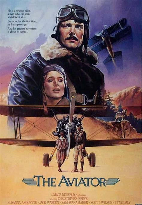 christopher reeve pilot the aviator 1985 film starring christopher reeve as an