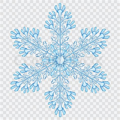 Home Decor Wiki by Big Translucent Crystal Snowflake In Light Blue Colors On