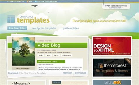 Open Source Templates Cssbay The Best Design Arround The World Open Source Website Templates