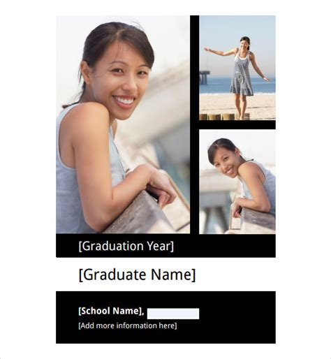 Graduation Announcements Templates Free by 9 Graduation Announcement Templates For Free