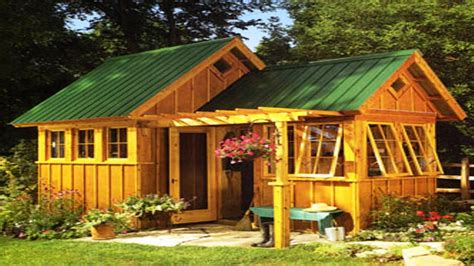 Wood Cabin Floor Plans shabby chic garden shed garden shed ideas pictures of