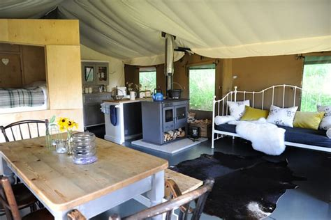 safari tents brownscombe luxury glamping