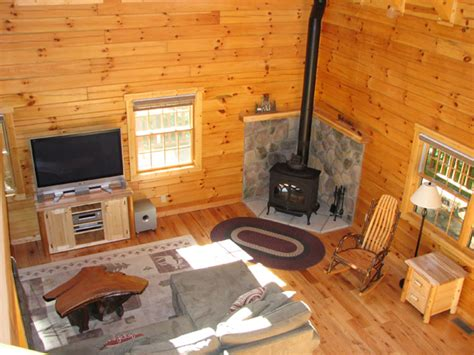 Log Cabin With Wood Burning Stove by Cedar Grove Lodging Cottages And Cabins Accommodations