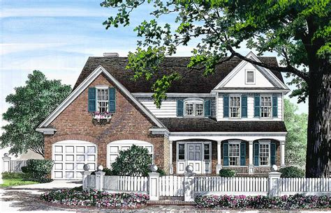 charming house plans charming traditional home plan 32531wp architectural