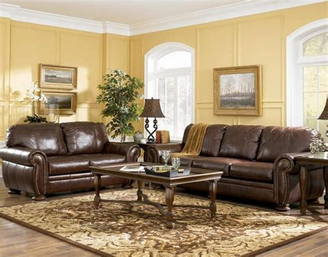 wall color with brown couch colour it yellow living room midcityeast