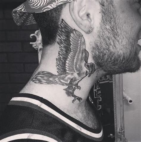 mac miller neck tattoo stories and meanings mac miller s tattoos