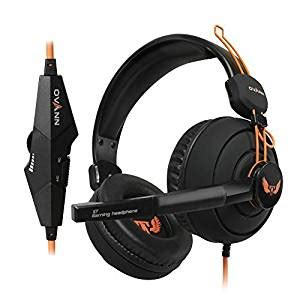 comfortable headset with mic com uinstone comfortable 3 5mm pc stereo surround