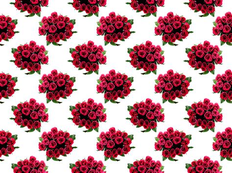 red pattern png clipart roses pattern
