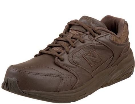 new balance mw927 health walking shoe in brown for lyst