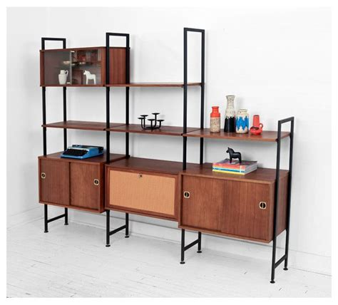 modular wall shelves vintage modular wall unit mid century modern shelving unit credenza shelf home design