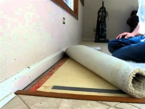 How To Install Rug by Carpet Installation Crash Course How To