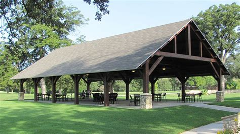 pavilion plans backyard timber frame outdoor seating pavilion golf course project