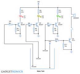 water level indicator circuit gadgetronicx