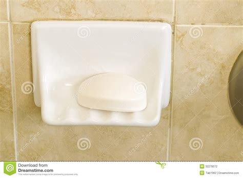 How To Use Bar Soap In The Shower by Bar Of Soap In Shower Dish Stock Photography Image 32276072