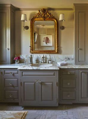 Country White Kitchen Cabinets the master bath counter and floor are calacutta gold