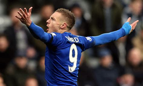 Leicester Records Vardy From Factory Worker To Premier League S Top Goal Scorer Sport